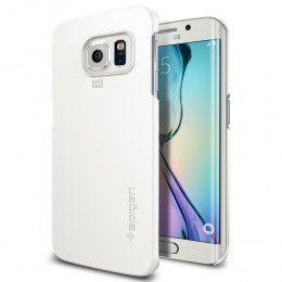Spigen Case Thin Fit for Samsung S6 Edge - White