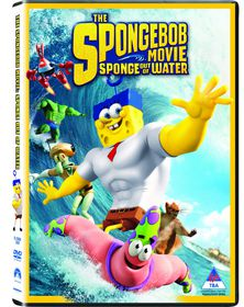 The Spongebob Movie: Sponge Out Of Water (2015) (DVD)