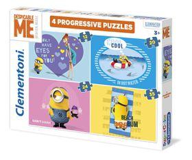 Minion Progressive 4-In-1 Puzzle