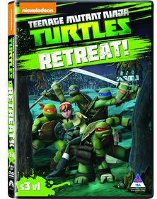 Teenage Mutant Ninja Turtles: Season 3 Vol. 1 Retreat (DVD)
