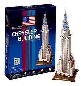 Cubic Fun Chrysler Building - USA - 70 Piece 3D Puzzle
