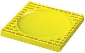 Placematix Kids - Plate - Yellow