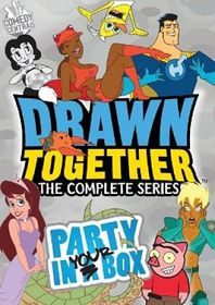 Drawn Together:Complete Series Party - (Region 1 Import DVD)