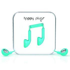 Happy Plugs Earbud + Mic & Remote - Turquiose