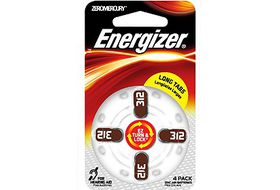 Energiser Zinc - Air AZ312 Battery
