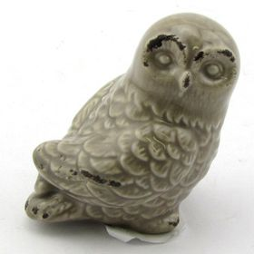 Pamper Hamper Ceramic Owl - Grey