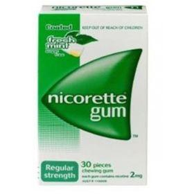 Nicorette Gum 2mg Regular - Pack of 30