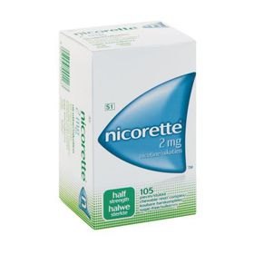 Nicorette Gum 2mg Regular - Pack of 105
