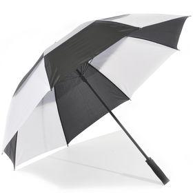 St Umbrellas - Golf Umbrella - Black/White