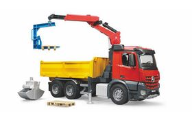 Bruder Mercedes-Be Arocs Construction Truck with Accessories
