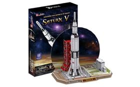 Cubic Fun Saturn V - 68 Piece