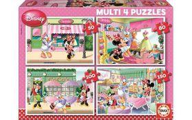 Educa Multi 4-in-1 Puzzle - Minne (50, 80, 100 & 150pc)