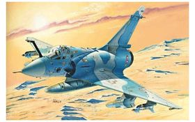 Italeri 1/72 Mirage 2000C - Model Set