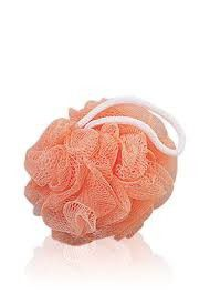 Body Benefits Net Bath Sponge - Peach