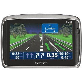 TomTom GO 750 Live GPS Device - 4.3 inch Wide Touch Screen - Live Traffic Updates