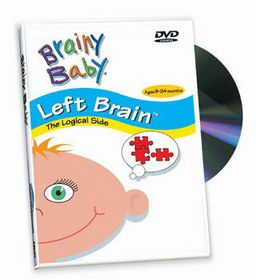 Brainy Baby - Left Brain (DVD)
