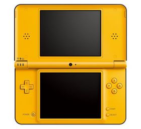 DSi XL Yellow Console