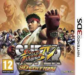 Super Street Fighter IV: 3D Edition (Nintendo 3DS)