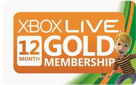 Xbox 360 Live 12 Month Gold Card (Xbox360)