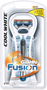 Gillette Fusion Cool White Manual Razor
