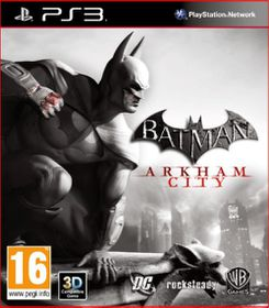 Batman: Arkham City - Lenticular Image (PS3)