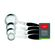 Legend - Premium Stainless Steel 4 Piece Measuring Spoons Set - 1/2 Tsp- 1 Tsp- 1/2 Tbsp- 1 Tbsp
