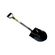 Lasher Tools - Carbon Steel Round Nose Open Socket Shovel