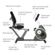 Tunturi GO 50 Recumbent Exercise Bike