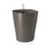 Lechuza - Deltini Table Planters - Charcoal Metallic