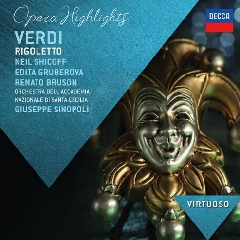 Virtuoso/shicoff, Gruberova, Sinopoli - Rigoletto - Highlights (CD)