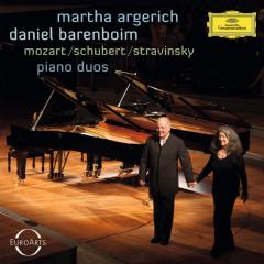 Martha Argerich/daniel Barenboim - Piano Duos (CD)