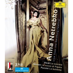 Anna Netrebko:Live from The Salzburg - (Region A Import Blu-ray Disc)