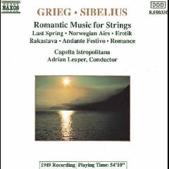 Capella Istropolitana - Romantic Music For Strings (CD)