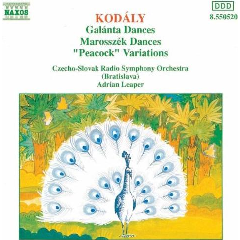 Czech-Slovak Radio Symphony Orchestra - Peacock Variations / Dances Galanta & Marosszek (CD)