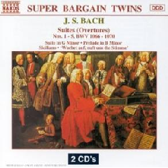 Capella Istropolitana - Orchestral Suites Nos.1-5 (CD)