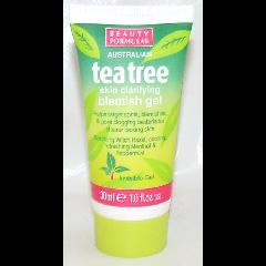 Beauty Formulas Tea Tree Blemish Gel For Spots & Blemishes - 30ml