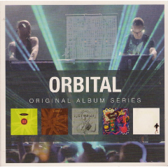 Orbital - Original Album Series - Orbital / Orbital 2 / Snivilisation / In Sides / Middle Of Nowhere (CD)