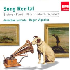 Lemalu Jonathan - Song Recital (CD)