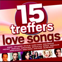 15 Treffers - Love Songs - Various Artists (CD)