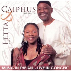 Mbulu Letta & Caiphus Semenya - Music In The Air - Live In Concert (CD)