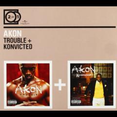 Akon - Trouble / Konvicted (CD)