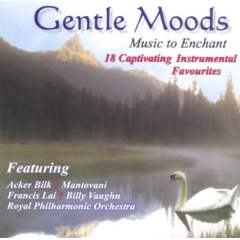 Gentle Moods - Music To Enchant - Various Artists (CD)