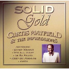 Curtis Mayfield - Solid Gold (CD)