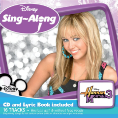 Children - Sing-a-Long Hannah Montana 3 (CD)