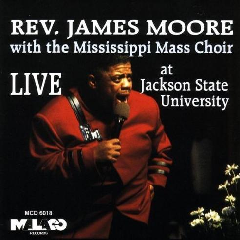 Rev James Moore - Live With The Mississippi Mass Choir (DVD)