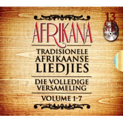 Afrikana  Complete Series  Volume 1 to Volume 7 - Various Artists (CD)