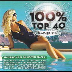 100% Top 40 Hits Summer 2014 - Various Artists (CD)