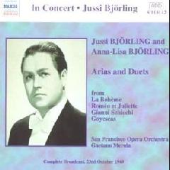 Jussi & Anna-Lisa Bjorling - Arias & Duets (CD)