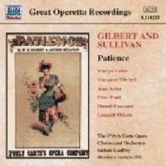 Gilbert & Sullivan - Patience;Godfrey (CD)