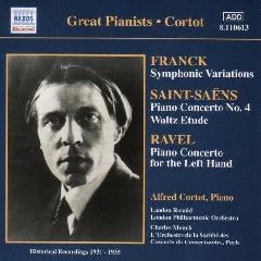 Alfred Cortot - Plays Ravel & Saint - Saens (CD)